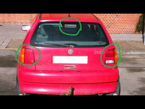 VW POLO - Brake lights issue