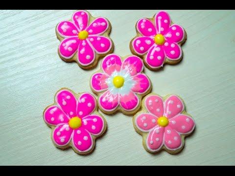 Icing cookies Flowers