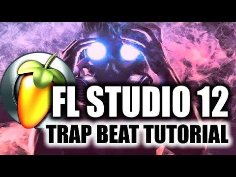FL Studio 12 - Trap Beat Tutorial (Em Português)