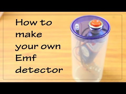 How to make your own Emf Detector || BJT as a switch