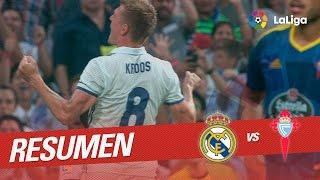 Resumen de Real Madrid vs Celta de Vigo (2-1)