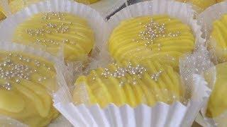 Gâteau sec au citrons 🍋🍋حلوى جافة بنكهة الليمون شكل رائع ومذاق منعش