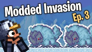 Snow Dogs!!! // Terraria Mass Modded Invasion - Episode 3
