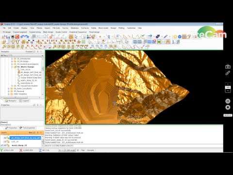Surpac Waste Dump Design Tutorial  01