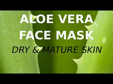 Aloe Vera Face Pack for Dry Mature Skin