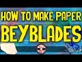 How to make a Paper Beyblade that spins fast! - Kids Crafts