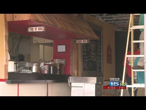 BBQ Joint Cleaning Up After Fire