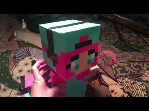 How to make a minecraft 3D character any skin OUT OF PAPER!!!