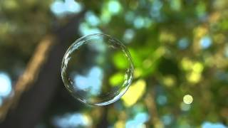 Bubble slow motion for background process