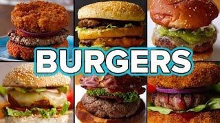 6 Mouth-Watering Burger Recipes