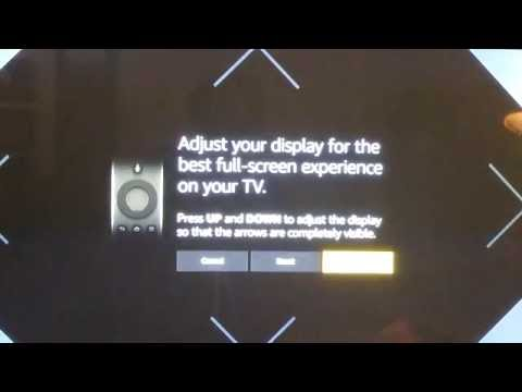 How to adjust your display screen on your Amazon Fire TV Stick.