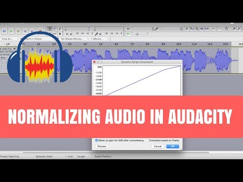Normalizing Audio in Audacity
