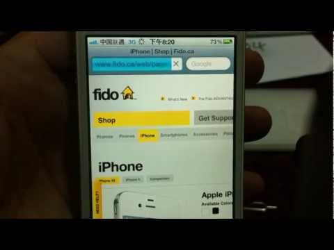 See How to Unlock All iPhone 4S Plus Fido and T-Mobile with Rebel X-SIM Plug & Play