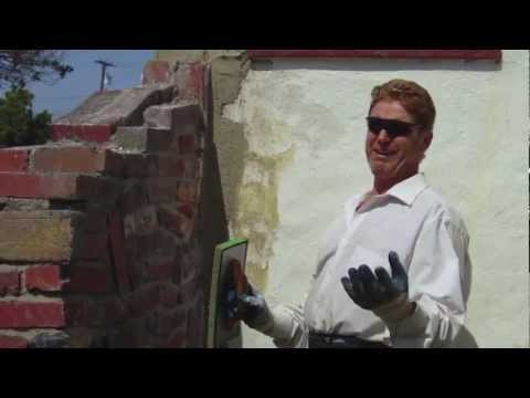Repair simple to severe cracking in stucco or plaster walls