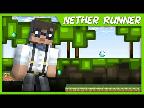 Nether Runner! - A 2 Day Game by CasanisPlays!