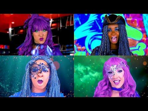 Xxx Mp4 Rap Battle Descendants 2 Uma Vs Mal Music Video Totally TV 3gp Sex