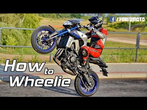 How to wheelie - Fabiq Moto Vlog