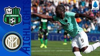 Sassuolo 3-4 Inter | L'Inter domina con il Sassuolo e torna di nuovo a -1 dalla Juve | Serie A