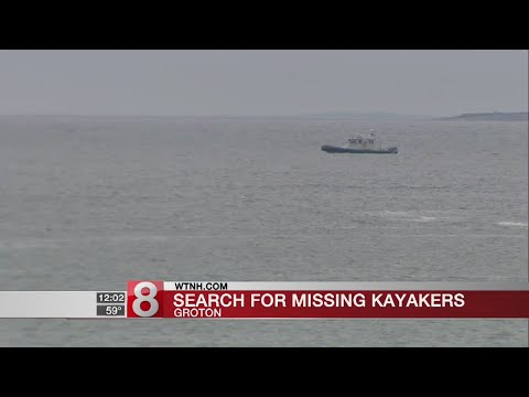 Coast Guard searching for two missing kayakers near Groton