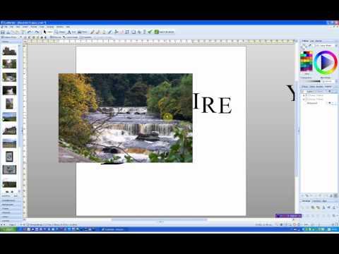 Word Art Frames in Craft Artist