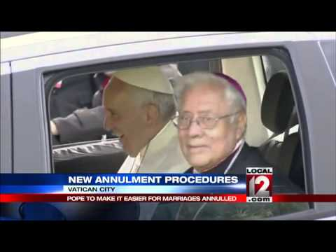 Pope to release new annulment procedures Tuesday