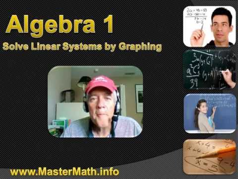 Algebra 1 - Solve Linear Systems by Graphing