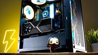 Cyberpunk Gaming PC - Time Lapse Build!! ft. Ryzen 7 5800X + RTX 3080
