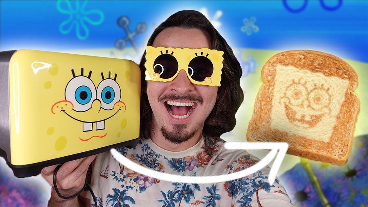 Spongebob Toaster! (Does it really work?)