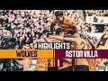 Spectacular Neves Strike amp A Cool Jimenez Finish Seals The Win Wolves 2 1 Aston Villa Highlights