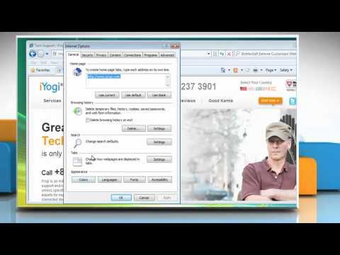 Internet Explorer® 8: Manage Pop-up Blocker settings in Windows® Vista