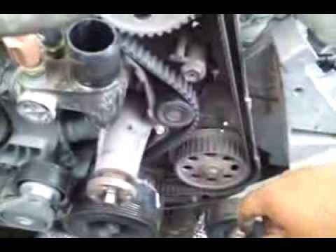 timing belt change Ford Ranger 2.5L   2014 02 22  105060