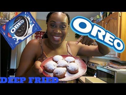 Homemade Deep Fried Oreos (yummy)