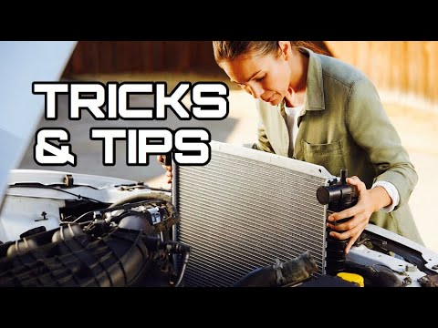 What to do before you Install a New Radiator - How to replace the radiator in your Car