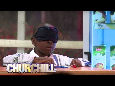 Gifted /Talented  Ryan Thuku on churchill Show - He can see through Blind fold
