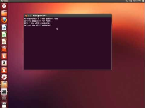 How to change Ubuntu password/How to change password in linux