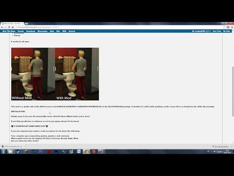 The Sims 4: No Mosaic/Censor Mod (Tutorial)