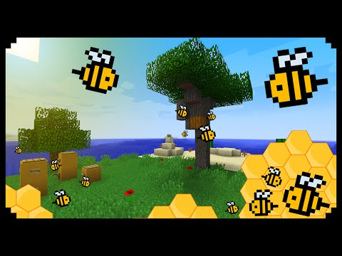 ✔ Minecraft: How to make a Buzzing Beehive