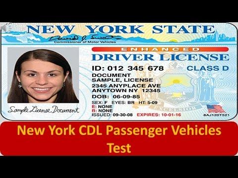 New York CDL Passenger Vehicles Test
