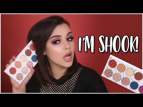 DOMINIQUE COSMETICS LATTE PALETTE FIRST IMPRESSIONS! | MakeupByAmarie
