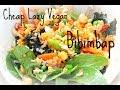 Bibimbap Recipe (Cheap Lazy Vegan style)