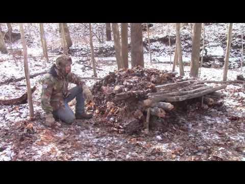 Warm Winter Survival Shelter