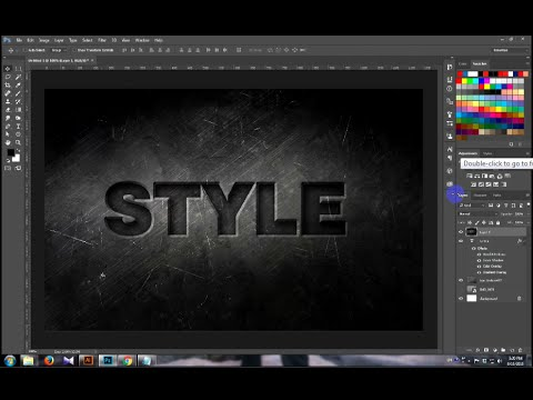 text style in photoshop cc 2015.5