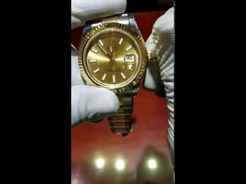 How to Set the Rolex Datejust/Datejust II