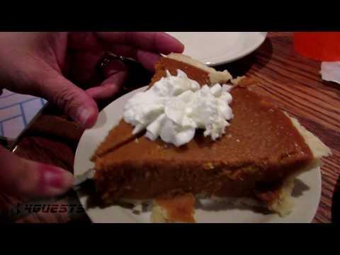 American Filipino Family Thanksgiving Dinner at Cracker Barrel