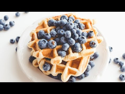 The BEST Classic Buttermilk Waffles