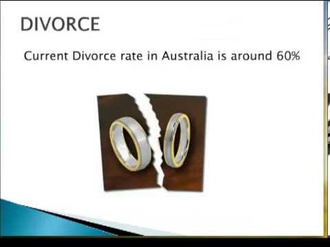 Divorce rates in Australia