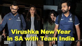 Virushka to ring in New Year in South Africa with Indian Cricket Team