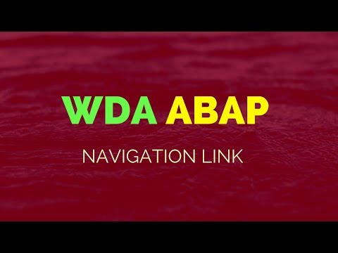 SAP ABAP Tutorial - Webdynpro ABAP Tutorial - Navigation Link - by Sooraj - 2017 edition!!