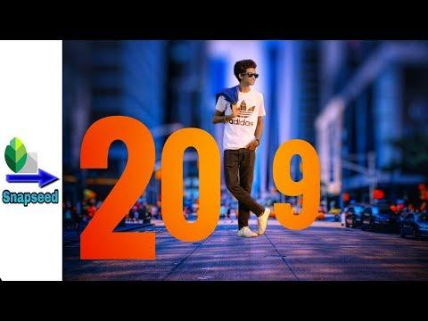Snapseed App - Happy New Year 2019 Photo Editing || Snapseed Manipulation Editing Tutorial
