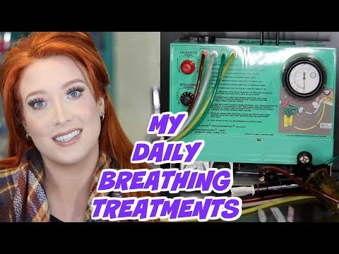 Cystic Fibrosis - My Daily Breathing Treatments